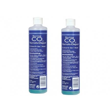 DENNERLE Recharges CO2 bio pour 60 jours - Lot de 2