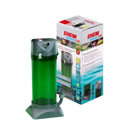 EHEIM Classic 150 Filtre aquarium 50 à 150L Débit : 300l/h