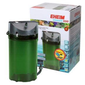 EHEIM Classic 600 + Robinets + Mousses - Filtre pour aquarium jusqu'à 600 L