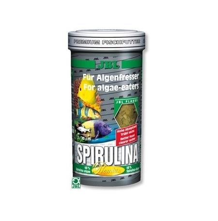 JBL Spirulina 250ml Paillettes pour mangeurs d'algues