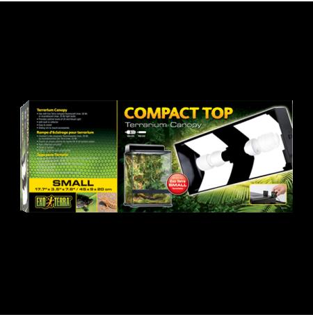 EXO TERRA Compact Top Small - 45 cm - Galerie pour ampoule fluo compacte -