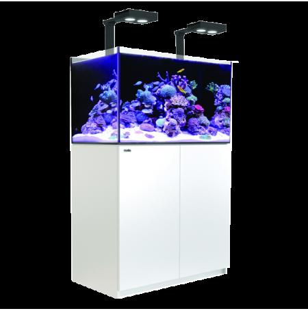 Aquarium RED SEA Reefer Deluxe 250 + Meuble + Eclairage LED - Blanc