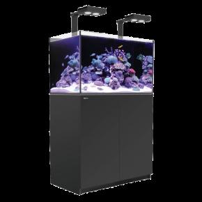 Aquarium RED SEA Reefer Deluxe 250 + Meuble + Eclairage LED - Noir