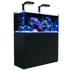 Aquarium RED SEA Reefer 350 + Meuble + Eclairage LED - Noir