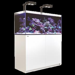 Aquarium RED SEA Reefer 350 + Meuble + Eclairage LED - Blanc