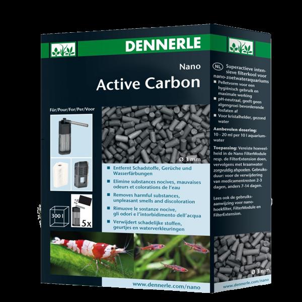 charbon actif pour aquarium dennerle nano active carbon