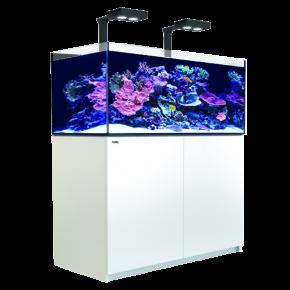 Aquarium RED SEA Reefer Deluxe XL 425 + Meuble + Eclairage LED - Blanc