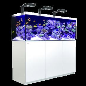 Aquarium RED SEA Reefer Deluxe 450 + Meuble + Eclairage LED - Blanc