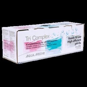 AQUA MEDIC Tri Complex - Calcium, Tampon pH et Oligo-elements pour coraux - 6 L