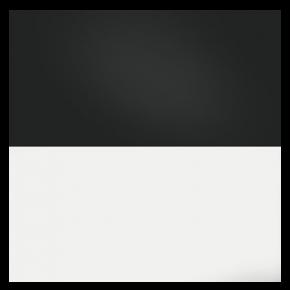 JUWEL Poster de Fond Noir Blanc Taille S - 60x30 cm
