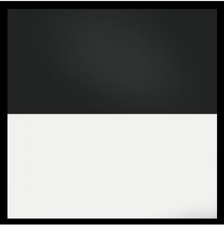 JUWEL Poster de Fond Noir Blanc Taille L - 100x50 cm