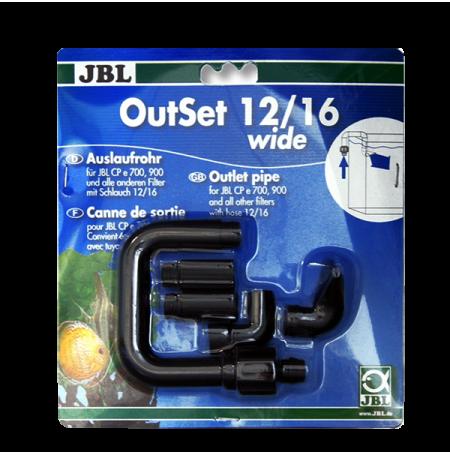 JBL OutSet Wide 12/16 - Kit de retour d'eau pour filtre CP e 4/7/900/1-2