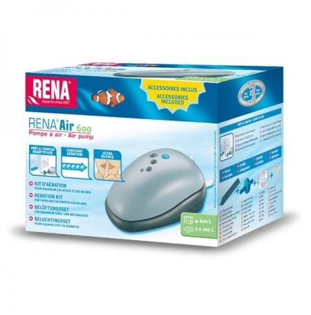 RENA Air 600, Pompe à Air - 2 x 200 L/H
