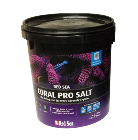 RED SEA Coral Pro - 7 Kilos - Sel pour aquarium