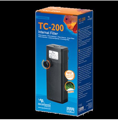 AQUATLANTIS TC200, Filtre pour tortues