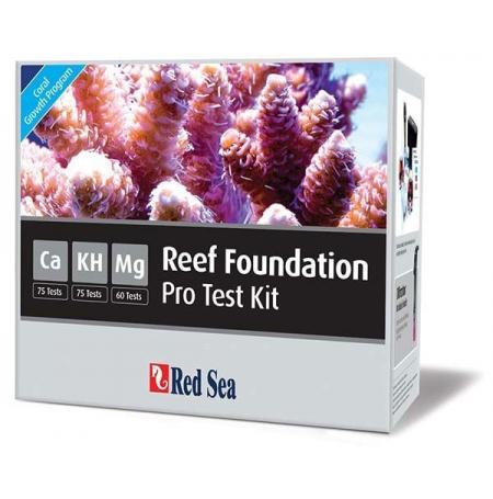 RED SEA Reef Foundation Pro Multi Test Kit (Ca,Alk,Mg)