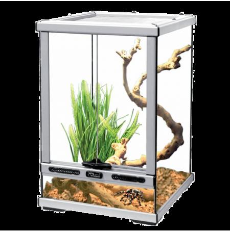 AQUATLANTIS Terrarium Smart Line 45 Version Haute - 45x45x60 cm - Aluminium - Livraison gratuite