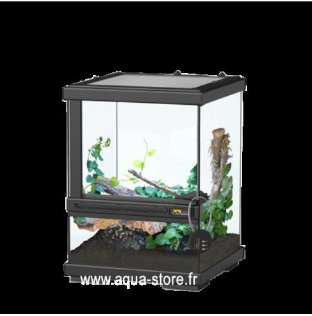 AQUATLANTIS Terrarium Smart Line 23 - 23x23x30 cm - Noir