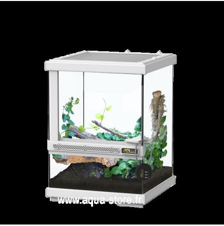 AQUATLANTIS Terrarium Smart Line 23 - 23x23x30 cm - Blanc