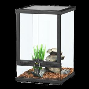AQUATLANTIS Terrarium Smart Line 30 Version haute - 30x30x45 cm - Noir