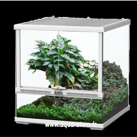 AQUATLANTIS Terrarium Smart Line 45 Version basse - 45x45x45 cm - Blanc - Livraison gratuite