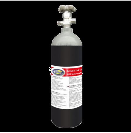 AQUA NOVA Bouteille CO2 rechargeable - 1,5 kg