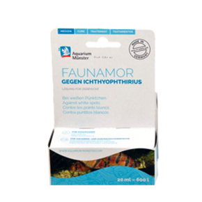 AQUARIUM MUNSTER Faunamor, Anti points blancs - 20 ml