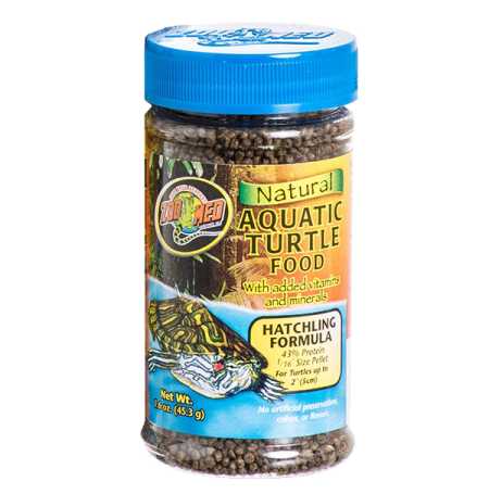 ZOOMED Natural Aquatic Turtle Food - Hatchling, aliment jeunes tortues d'eau - 45,3 g