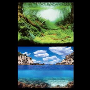 AQUA NOVA Poster Plant/Ocean XL, Aquascapping/Ocean - 150x60 cm