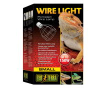 EXO TERRA Wire Light, Support pour lampes de 40 à 150 Watts - Small