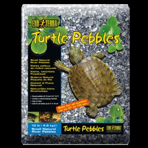 EXO TERRA Turtle Pebbles, Cailloux de rivière naturels 8 - 10 mm - 4,5 kg