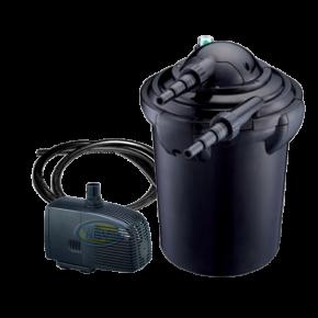 AQUA NOVA NPF-10 - Filtre + UV + Pompe pour Bassin jusqu'à 1000 L