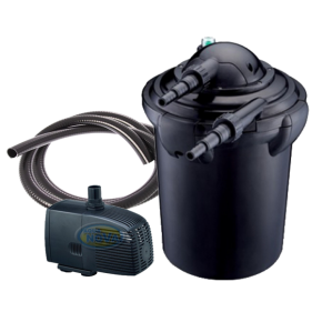 AQUA NOVA NPF-20 - Filtre + UV + Pompe pour Bassin jusqu'à 10000 L