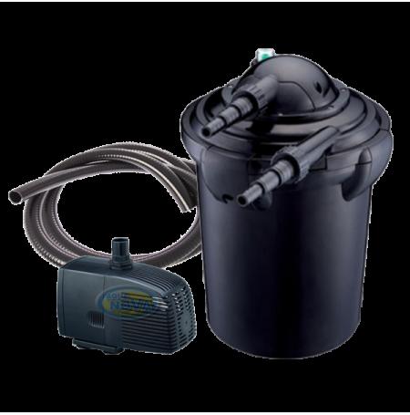 Aqua nova nfp 20 filtre pour bassin de 10000 litres for Filtre uv bassin