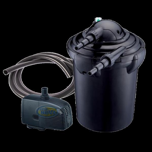 Aqua nova nfp 20 filtre pour bassin de 10000 litres for Pompe bassin filtre