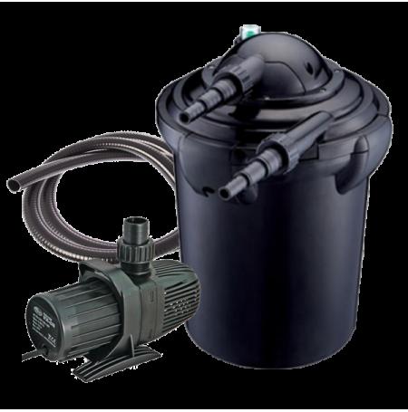 aqua nova nfp 40 filtre pour bassin de 20000 litres. Black Bedroom Furniture Sets. Home Design Ideas