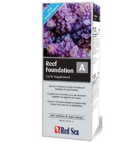 RED SEA Reef Foundation A (Ca/Sr) 500 ml