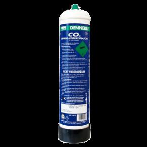 DENNERLE Bouteille de CO2 jetable - 850 g