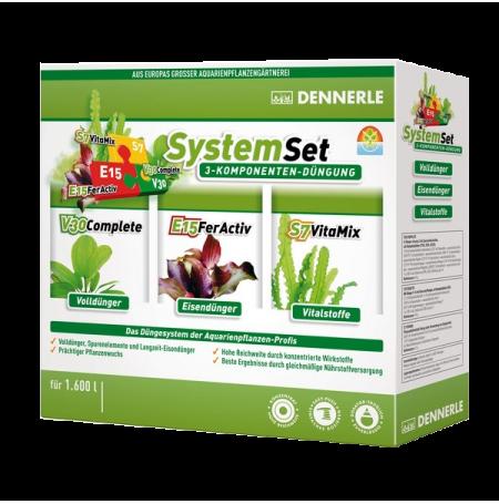 DENNERLE SystemSet - Kit 3 engrais : V30+E15+S7 - 50 ml