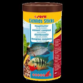 SERA Cichlids Sticks, Nourriture tous cichlidés - 1000 ml