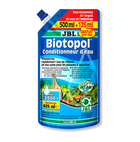 JBL Biotopol - Recharge - 500 ML + 125ml gratuit