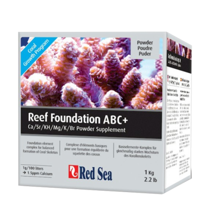 RED SEA Reef Foundation ABC+ complet 1 kg (poudre)