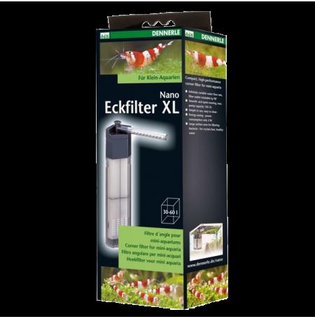 DENNERLE Nano Eckfilter XL - Filtre pour Aquarium jusqu'à 60 L