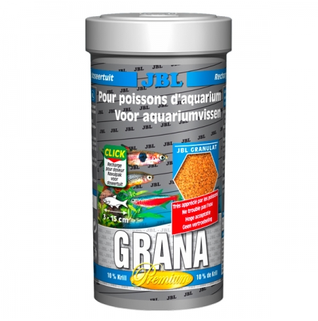 JBL Grana 250ml Nourriture petits poissons de tous niveaux