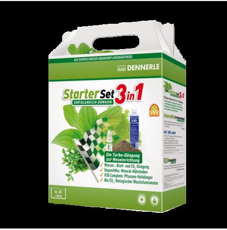 DENNERLE StarterSet 3 en 1 - Set de Démarrage Plantes