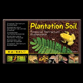 EXO TERRA Plantation Soil - Coco Brique pour terrarium tropical - 8,8 L