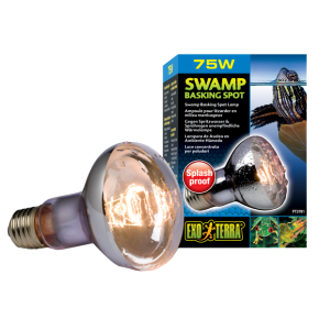 EXO TERRA Swamp Basking Spot, Ampoule de Chaleur - 75 Watts