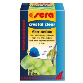 SERA Crystal Clear Filter Medium - 12 pièces