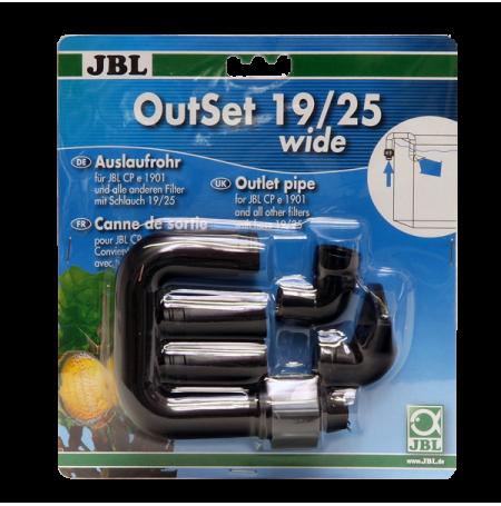 JBL OutSet Wide 19-25 - Kit de retour d'eau pour filtre CP e 1901-2