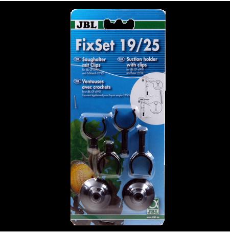JBL FixSet 19/25, Ventouses avec Crochets pour tuyaux Ø19/25 mm